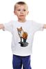 """Детская футболка """"Лисица"""" - животные, red, рисунок, fox, лиса, рыжая"""
