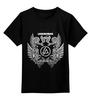 """Детская футболка классическая унисекс """"Linkin Park - logo"""" - logo, linkin park, тур, exlusive, 2015"""