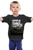 "Детская футболка ""World of Tanks"" - world of tanks, танки, wot, кв2"
