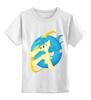 """Детская футболка классическая унисекс """"Poninternet explorer"""" - pony, mlp"""