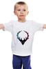 """Детская футболка классическая унисекс """"just wear"""" - олень, deer"""