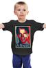 """Детская футболка """"Arnold Schwarzenegger"""" - кино, arnold schwarzenegger, терминатор, terminator, арнольд шварценеггер"""