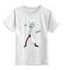 """Детская футболка классическая унисекс """"Rick & Morty"""" - rick, рик и морти, morty"""