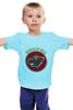 """Детская футболка классическая унисекс """"Миннесота Уайлд """" - хоккей, nhl, нхл, minnesota wild, миннесота уайлд"""