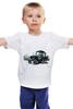 """Детская футболка """"""""трактор"""" от михаила доманова"""" - авторские майки, прикольные, выделись из толпы"""