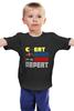 """Детская футболка классическая унисекс """"Gamer (8-bit)"""" - nintendo, mario, марио, pac man"""