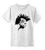 """Детская футболка классическая унисекс """"Punks Not Dead"""" - punk, punks not dead, анархия, панк рок, anarchy"""