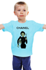 "Детская футболка ""Chanel"" - юмор, духи, бренд, fashion, коко шанель, brand, coco chanel, шанель, perfume, karl lagerfeld"