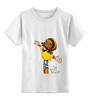 """Детская футболка классическая унисекс """"Полет"""" - регги, боб марли, полет, fly, bob marley"""