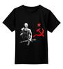 """Детская футболка классическая унисекс """"Ленин"""" - ссср, революция, lenin, ленин"""