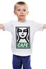 "Детская футболка ""Starbucks (Obey)"" - кофе, obey, starbucks, старбакс, cafe"