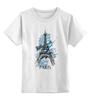 """Детская футболка классическая унисекс """"Эйфелева башня"""" - арт, city, париж, paris, eiffel tower"""