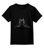 """Детская футболка классическая унисекс """"batman"""" - batman, dark knight, тёмный рыцарь"""