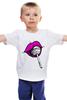 """Детская футболка классическая унисекс """"pink lips"""" - арт, губы, pink, розовый, чупа-чупс, lips, леденец, lolipop"""