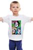 "Детская футболка ""Green day"" - музыка, рок, rock, green day"