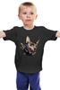 "Детская футболка ""Mr. Cox лонг"" - кот, бабочка, cat, кокс, сфинкс, sphynx, tm kiseleva"