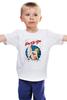 """Детская футболка классическая унисекс """"Pin Up Girl"""" - винтаж, поп-культура, пинап, pin-up"""