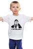 """Детская футболка классическая унисекс """"В чем сила Брат? """" - брат, бодров, сергей бодров, данила багров"""