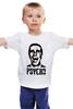 "Детская футболка ""American psycho(Американский психопат)"" - американский психопат, patrick bateman, american psycho, патрик бэйтман"