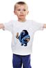 """Детская футболка """"Fat Sub-zero"""" - mortal kombat, мортал комбат, sub-zero, саб-зиро, обжор"""