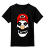 """Детская футболка классическая унисекс """"Mario x Misfits"""" - misfits, mario, марио"""