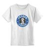 """Детская футболка классическая унисекс """"Frozen Coffee"""" - кофе, старбакс, frozen, frozen coffee"""