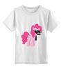 """Детская футболка классическая унисекс """"My Little Pony - Пинки Пай (Pinkie Pie)"""" - pony, mlp, пони, пинки пай"""