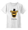 """Детская футболка классическая унисекс """"Freddy (Пять ночей у Фредди)"""" - пять ночей у фредди, five nights at freddy's"""