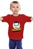 """Детская футболка классическая унисекс """"Bazinga!"""" - the big bang theory, bazinga, теория большого взрыва, шелдон купер"""