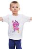 "Детская футболка классическая унисекс ""My Little Pony: Friendship is Magic Logo"" - logo, rainbow dash, my little pony, applejack, rarity, friendship is magic, fluttershy, twilight sparkle, pinkie pie"