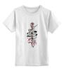 """Детская футболка классическая унисекс """"Arrow т ж"""" - спираль, стрела, перо, дотворк, лайнарт, arrow, tm kiseleva"""