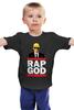 """Детская футболка """"Эминем (Бог Рэпа) """" - eminem, эминем, slim shady, слим шейди, rap god"""