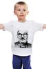 "Детская футболка ""Лукашенко хипстер"" - хипстер, лукашенко, беларуссия, alexander lukashenko"