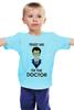 """Детская футболка """"Doctor Who """" - doctor who, tardis, доктор кто, теннант, тардис, ho"""