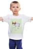 """Детская футболка """"Телец"""" - телец, знак зодиака"""