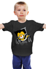 """Детская футболка """"Миньоны Minions"""" - росомаха, миньоны, wolverine"""