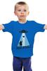 "Детская футболка классическая унисекс ""Mars Attacks!"" - прикол, юмор, марс, бабуля, атакует"