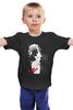 """Детская футболка классическая унисекс """"Sin City / Город Грехов"""" - ню, sin city, город грехов, kinoart, frank miller"""
