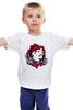 """Детская футболка классическая унисекс """"Тупак Шакур (2pac)"""" - rap, hip-hop, 2pac, west coast, тупак"""