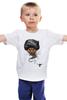 """Детская футболка классическая унисекс """"Я есть Джин"""" - кот, cat, джин"""