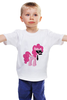"""Детская футболка """"My Little Pony - Пинки Пай (Pinkie Pie)"""" - pony, mlp, пони, пинки пай"""