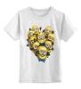 """Детская футболка классическая унисекс """"Миньоны"""" - смешно, мультик, мульт, миньоны, гадкий я, гадкий я 2"""