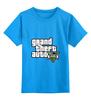 "Детская футболка классическая унисекс ""Grand Theft Auto 5"" - игра, grand theft auto, gta, rockstar, gta5, video games"