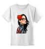 """Детская футболка классическая унисекс """"Baroness"""" - smoking, сигарета, виверос, брайан виверос"""