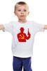 """Детская футболка """"Russian Mafia"""" - россия, mafia, мафия, russian, серп и молот"""