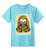 "Детская футболка классическая унисекс ""Mad Max / Безумный Макс"" - маска, mad max, безумный макс, kinoart, fury road"