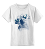 "Детская футболка классическая унисекс ""Чихуахуа"" - собаки, чихуахуа, chihuahua"
