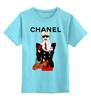 "Детская футболка классическая унисекс ""Chanel"" - прикол, юмор, духи, бренд, fashion, коко шанель, brand, coco chanel, perfume, karl lagerfeld"