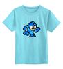 """Детская футболка классическая унисекс """"Mega Man (8-bit)"""" - 8 bit, capcom, mega man"""