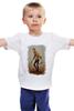 """Детская футболка классическая унисекс """"the walking dead rick"""" - zombie, зомби, ходячие мертвецы, the walking dead, рик"""